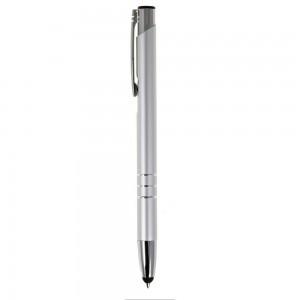 Długopis ze srebrnymi wykończeniami, touch pen