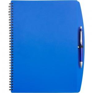 Notes / notatnik A4 (65 kartek w linie) z plastiko