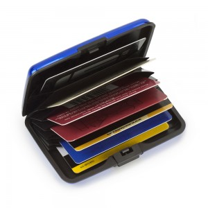 Wizytownik / etui na karty kredytowe, 7 przegródek