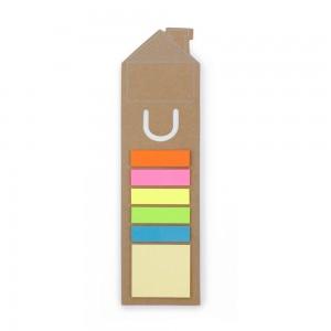 """Zakładka do książki """"dom"""", zestaw karteczek"""