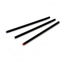 Czarny ołówek z kolorową końcówką, nienaostrzony