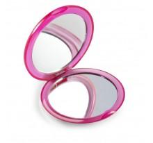Okrągłe, podwójne lusterko do makijażu