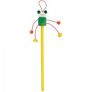 Ołówek nienaostrzony, kolorowe zwierzątko