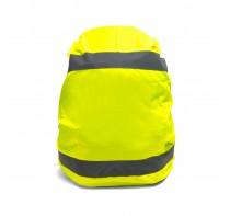 Osłona na plecak z odblaskowymi pasami z elastyczn