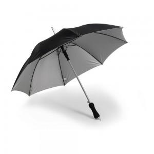 Parasol automatyczny, srebrne podbicie, metalowa k