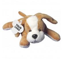 Pies pluszowy, zawieszka pod nadruk