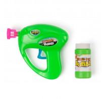 Pistolet na bańki mydlane z pojemnikiem na płyn