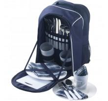 Plecak piknikowy, zastawa dla 4 osób, 25 el.