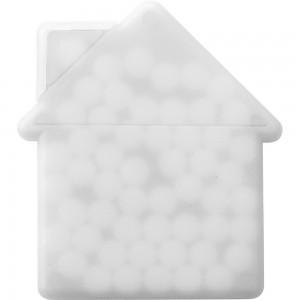 """Pojemnik z miętówkami bez cukru """"dom"""", ok. 6,5 g"""