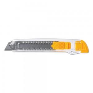 Półprzezroczysty nóż do tapet z blokadą