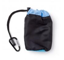 Ręcznik sportowy 30 x 30 cm z czarnym pokrowcem za