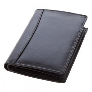 Skórzany portfel Mauro Conti, 7 miejsc na karty