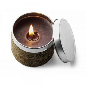Świeczka zapachowa w puszce: 02-wanilia, 16-kawa, 18-cynamon