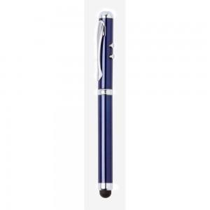 Wskaźnik laserowy z lampką 1 LED, touch pen