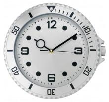 Zegar na ścianę o wyglądzie zegarka na rękę