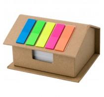 Zestaw do notatek w kształcie domu, 125 karteczek
