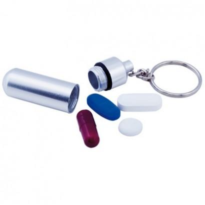 Brelok do kluczy z pojemnikiem na leki