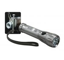 Latarka LED z magnesem, 17 diodowa