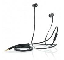 Stylowe słuchawki z płaski kablem