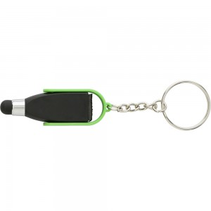 Brelok do kluczy, touch pen i czyścik