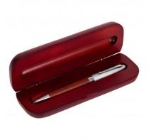 Długopis z metalowymi wykończeniami, w pudełku