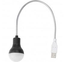 """Elastyczna lampka USB do komputera """"żarówka"""""""