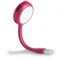 Lampka USB 2.0, 5 LED, hub z 4 portami