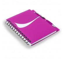 Notatnik z długopisem