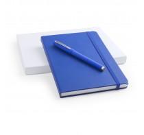 Zestaw piśmienny, notatnik i długopis