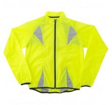 Fluorescencyjna kurtka dla biegaczy