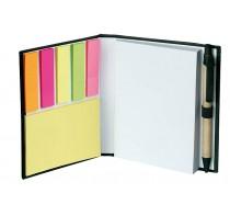 Notes ekologiczny z długopisem czarnym