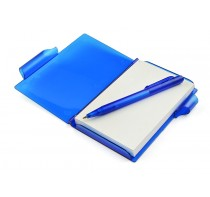 Notes z długopisem niebieski, 80 kartek