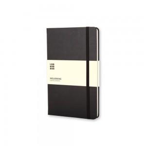 Duży kalendarz notatnik Moleskine tygodniowy, twarda okładka.