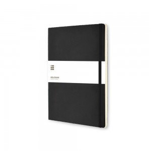 Kalendarz notatnik Moleskine XL tygodniowy, miękka okładka.