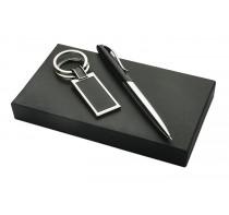 Zestaw upominkowy (długopis, brelok)
