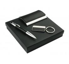 Zestaw upominkowy (długopis, brelok, wizytownik)
