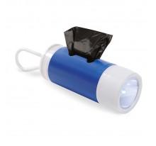 Latarka LED z pojemnikiem dogbag