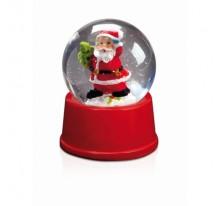 Kula świąteczna z Mikołajem.