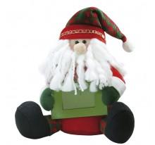 Mikołaj maskotka z ramką