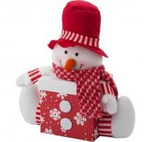 Ozdobne pudełko świąteczne z pokrywką