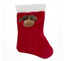 Skarpeta świąteczna z łosiem, pod nadruk