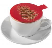 Szablon do ozdabiania kawy Winter